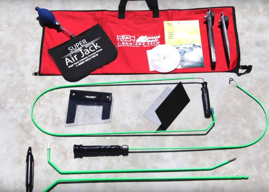 Car Unlock Service Kit